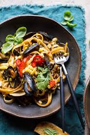 Basil Coconut Curry Pasta with Clams ...