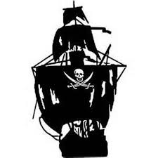 Pirate Ship Decal Window Decal Pirate Ship Drawing Pirate Ship Pirates