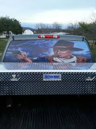 My First Back Glass Decal On My Truck Glass Decals Trucks Car
