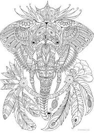 Abstract Elephant Coloring Pages Coloringpages Coloringpagesfree