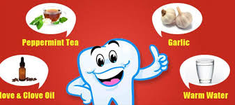 homemade remes for tooth ache