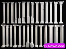 Download Free 3d Templates Characters 3d Building And More Download European Pillars 3d Model Free Download Free 3d Templates Characters 3d Building And More
