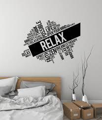Relax Vinyl Wall Decal Words Cloud Zen Meditation Room Spa Etsy In 2020 Meditation Room Zen Meditation Room Vinyl Wall Decals