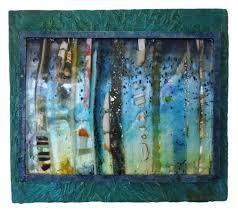 Fused glass & handmade paper by Priscilla Robinson | Art, Art ...