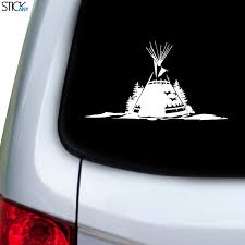 Tee Pee Tent Decal For Car Window Stickany
