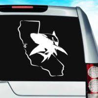 Shark Car Vinyl Car Window Decals Stickers Graphics