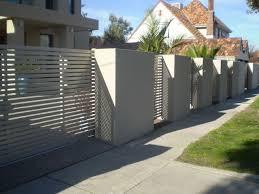 Modern Rendered Fence Lock Fast Fences Fence Gate Design House Gate Design Fence Design