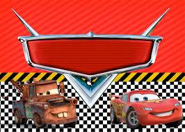Convite Carros Disney Cumpleanos De Motivo De Disney Cars