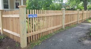 Cedar Wood Fencing Is A Beautiful Property Addition Long Fence