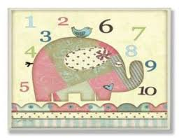 The Kids Room By Stupell Patchwork Elephant With Numbers Rectangle Wall Plaque Click For Special Elephant Print Art Gallery Wrap Canvas Tangletown Fine Art