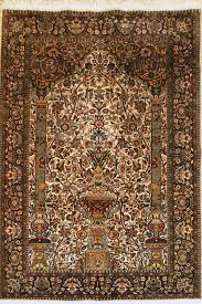 oriental hand knotted kashmir rug in