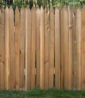 Western Red Cedar Grape Stake Fence Wood Fence Wood Fence Gates Fence