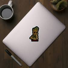 I Am Groot Groot Sticker Teepublic