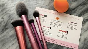 real techniques brushes review kaela