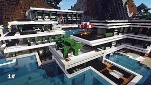 belle maison moderne minecraft