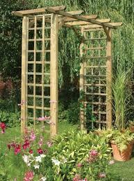 30 unique garden trellis ideas to