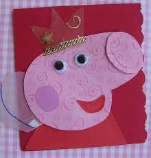Peppa Pig Card Invite Idea Mit Bildern Peppa Wutz