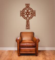 Celtic Cross Wall Decals The Decal Guru