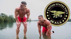 bodybuilders try the us navy seals