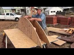 building a brick arch part 1