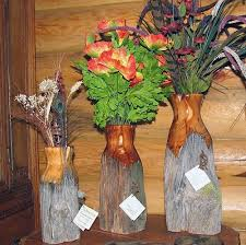 Pin By Ria Luijten On Everything Home Fence Post Crafts Wood Log Crafts Handcrafted Wood