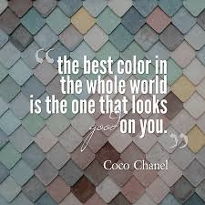 quotes about color design and fashion