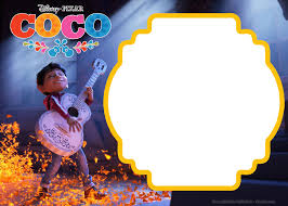 Free Printable Disney Coco Birthday Invitation Template Jpg 2 100