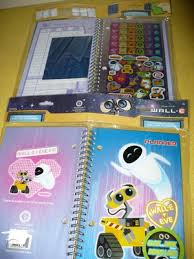 Disney Hello Wall E Glow In The Dark Personalized Planner With Stickers Book 251117313