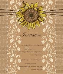 Tarjeta De Invitacion De La Vendimia Con El Diseno Adornado
