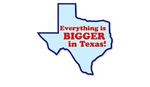 Amazon Com Ak Wall Art Everything Is Bigger In Texas Vinyl Sticker Car Window Bumper Laptop Select Size Home Kitchen