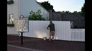 White Wash A Fence And Not A Drop Spilled In Hannibal Missouri Youtube