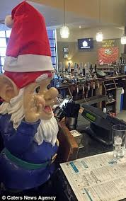 gnome stolen by thief who taunted the
