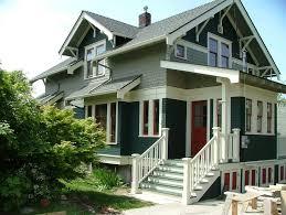craftsman exterior colors