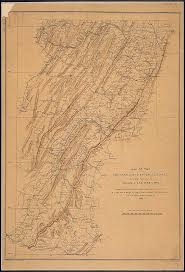 Map of the Shenandoah & Upper Potomac Including Portions of Virginia, [West  Virginia], and Maryland. Compiled