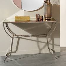 chennai nickel console table with