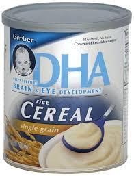 gerber single grain rice cereal 8 oz