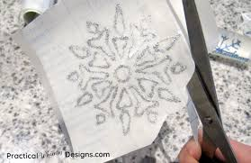 Snowflake Window Decals Practical Whimsy Designs