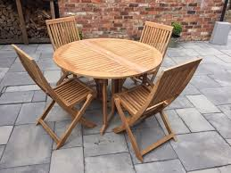 wooden garden table bq