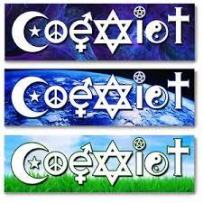 Coexist Bumper Sticker Decal Car Vehicle Hindu Christian Hebrew Islam Peace Ebay