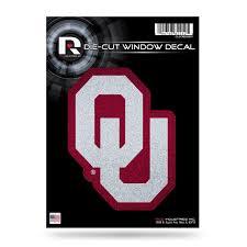 College Ncaa Sports Mem Cards Fan Shop Oklahoma Sooners Decal 8x8 Die Cut White