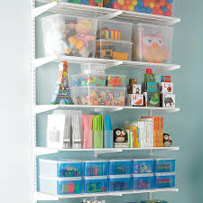 White Elfa Kids Activity Room The Container Store