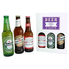 personalised beer o clock 3 lager gift