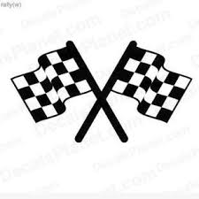 Racing Flags Decal Vinyl Decal Sticker Wall Decal Decals Ground