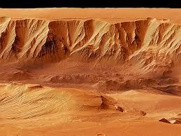 Resultado de imagen de Cañines naturales de Marte