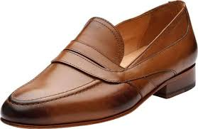 slip on modern classic leather lined