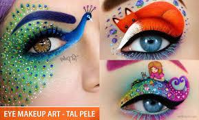 creative eye makeup ideas and art