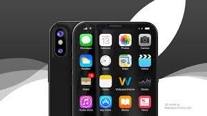 wallpaper iphone x black wwdc 2017 4k