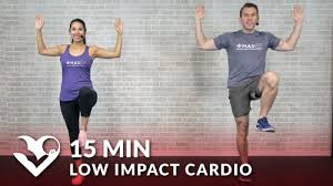 15 minute low impact cardio workout for