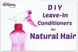diy leave in conditioners for natural hair