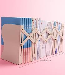 Adjustable Picket Fence Style Book Shop Holder Kids Bedroom Tabletop Primo Supply L Curated Problem Solving Products